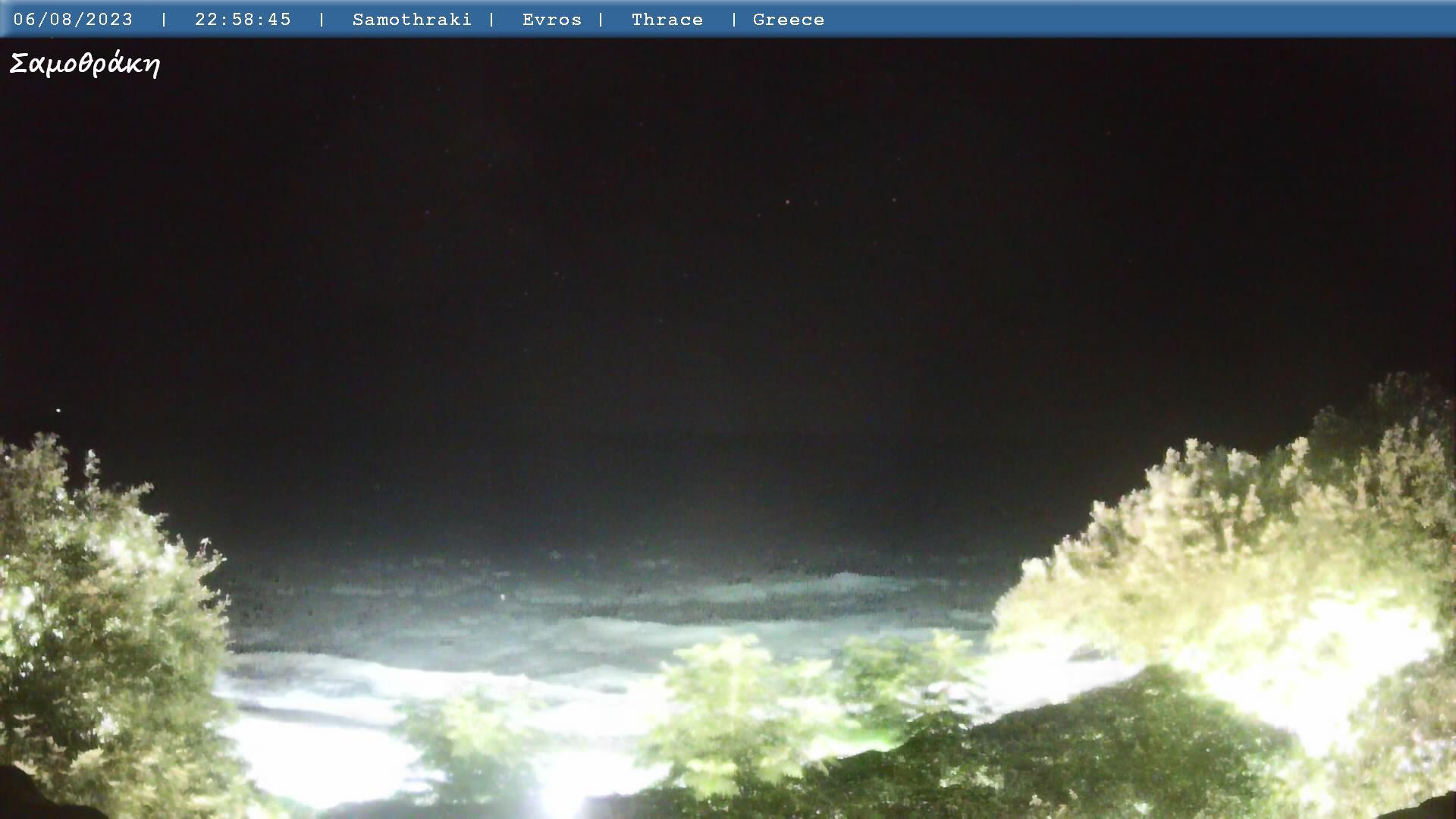 Webcam-Livebild vom Hafen in Alexandroupolis. Aktualisierung jede 10 Sekunden