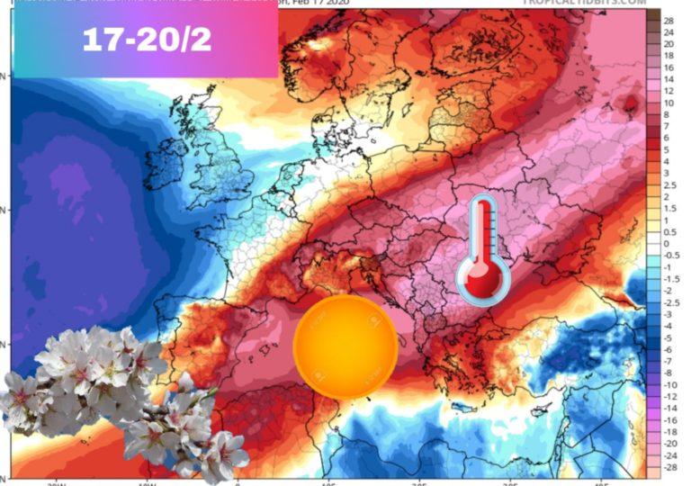 Αισθητή άνοδος της θερμοκρασίας την νέα εβδομάδα