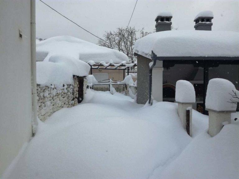 Πυκνές χιονοπτώσεις στα βουνά τις επόμενες ημέρες