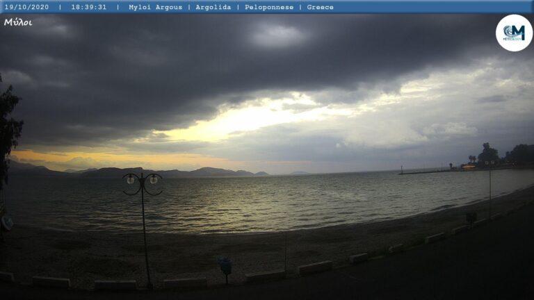 Εύβοια: Αξιόλογες βροχές την Τετάρτη.