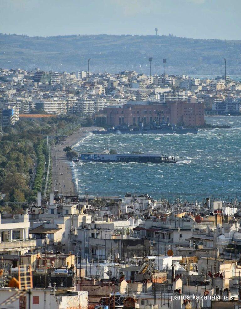 Θεσσαλονίκη: Δυνατός Βαρδάρης την Παρασκευή