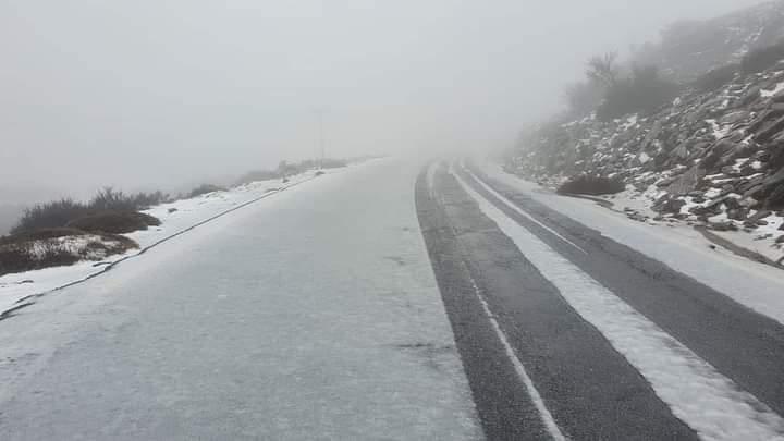 Έπεσαν τα πρώτα χιόνια στην Κρήτη