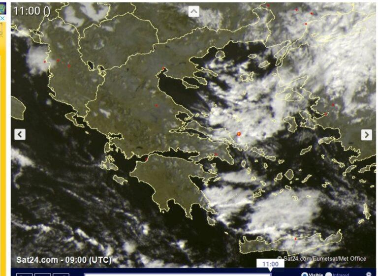 Άστατος καιρός στο νότιο Αιγαίο- βελτιωμένος στην υπόλοιπη χώρα