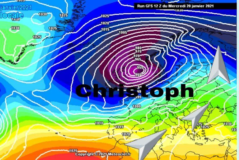 Η καταιγίδα Christoph σαρώνει την Ευρώπη