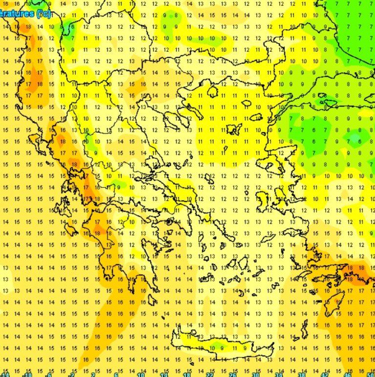 Ηλιοφάνεια και ανοιξιάτικες θερμοκρασίες την Πέμπτη