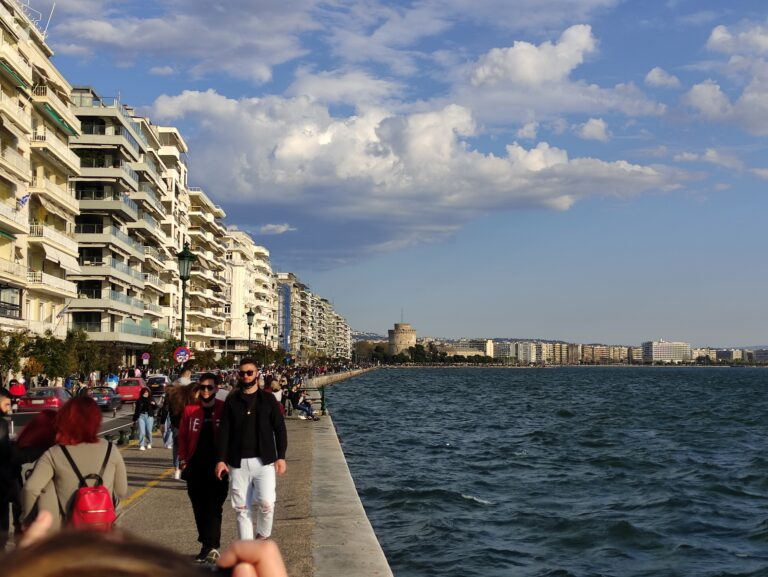 Θεσσαλονίκη: Υποχωρεί το κρύο- άνοδος θερμοκρασίας