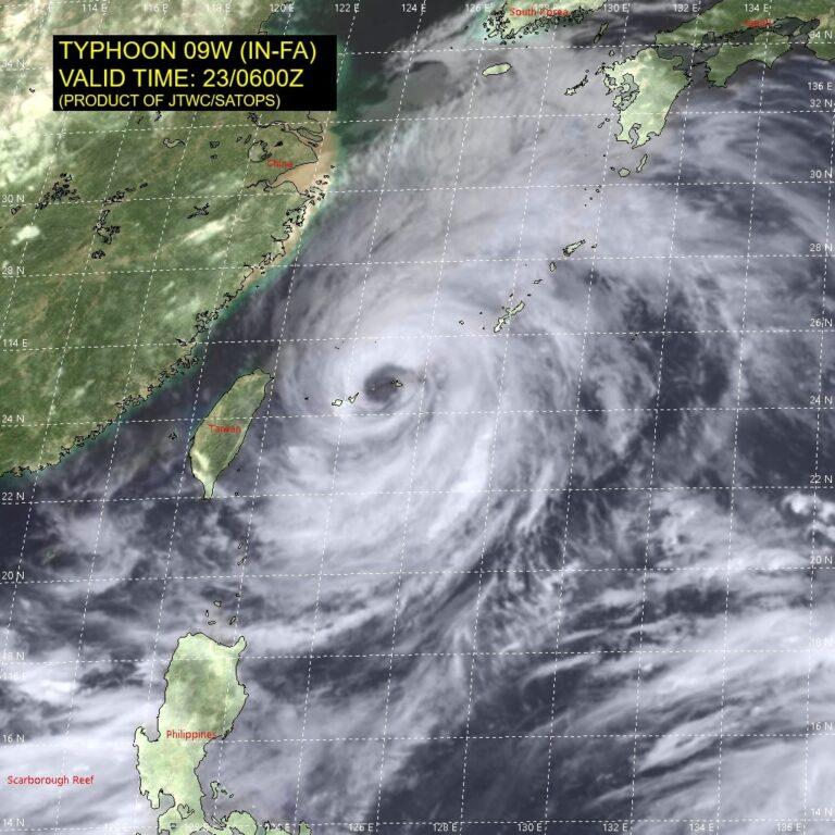 Κίνα: Σε κόκκινο συναγερμό για τον Υπερτυφώνα in-fa