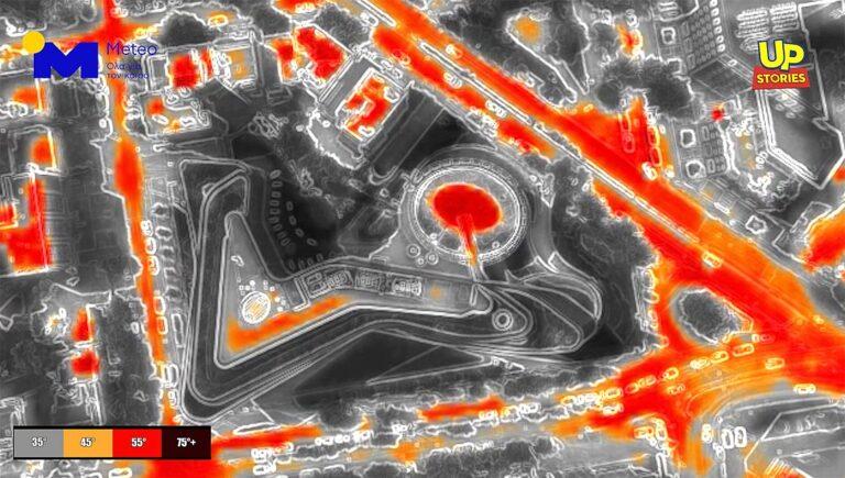 Πτήση με θερμική κάμερα πάνω από την Αθήνα – Τι κατέγραψε